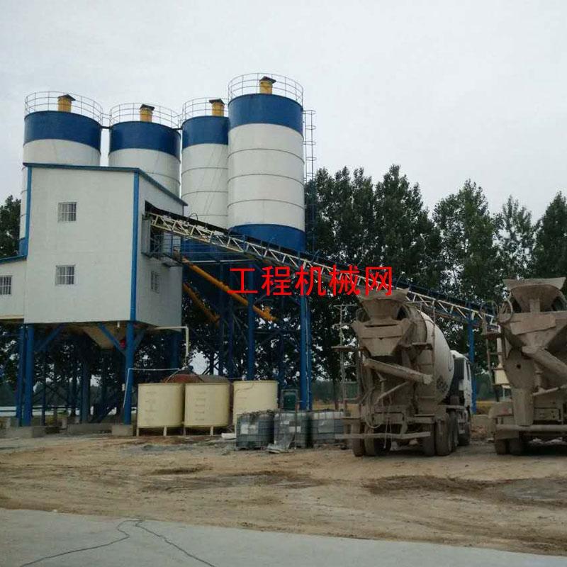 大型HZS180混凝土攪拌站